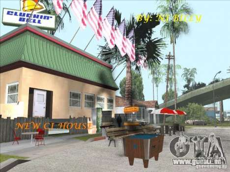 CJ house cleo pour GTA San Andreas