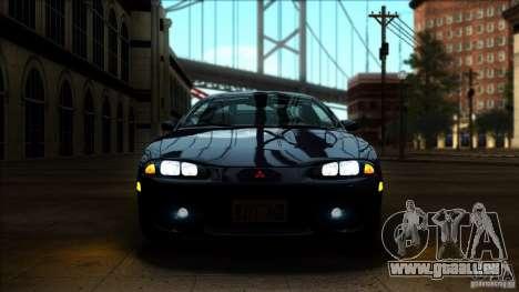 Mitsubishi Eclipse GSX 1999 für GTA San Andreas rechten Ansicht