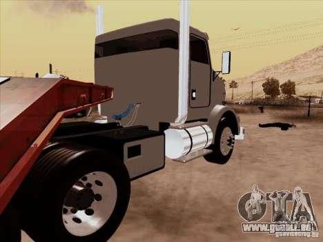 Kenworth T800 Econom für GTA San Andreas zurück linke Ansicht