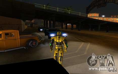 Cyrax 2 de Mortal kombat 9 pour GTA San Andreas deuxième écran