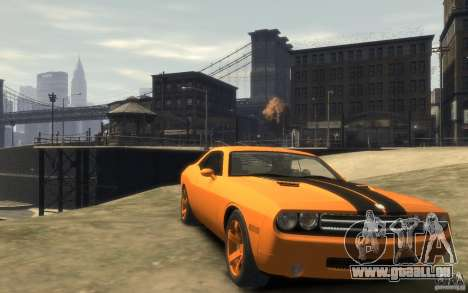 Dodge Challenger Concept für GTA 4 Rückansicht