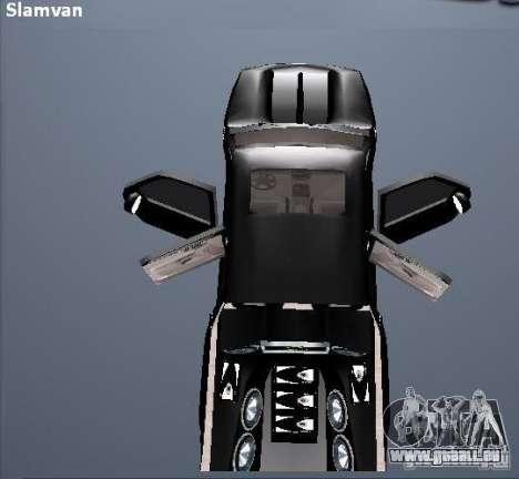 Chevrolet Suburban für GTA San Andreas Seitenansicht