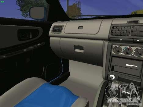 Subaru Impreza 22b Tunable für GTA San Andreas Seitenansicht