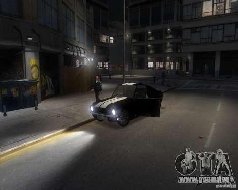 Ford Mustang Tokyo Drift für GTA 4 Seitenansicht