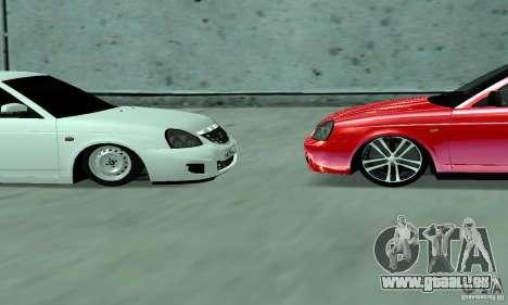 Lada Priora für GTA San Andreas Innenansicht