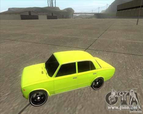 VAZ 2101 Auto tuning version für GTA San Andreas zurück linke Ansicht