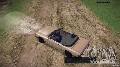 Feltzer HD pour GTA San Andreas sur la vue arrière gauche