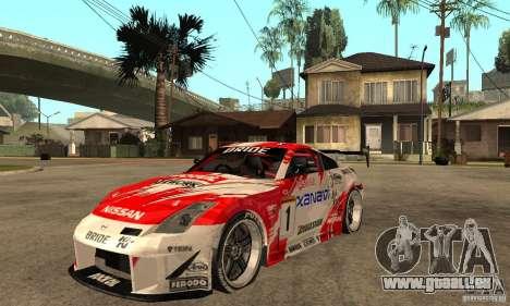 Nissan 350Z Xanavi pour GTA San Andreas