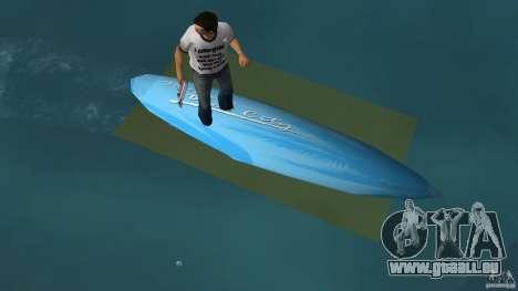 Surfboard 3 pour une vue GTA Vice City de la droite