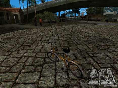 Romet Wigry 3 für GTA San Andreas Seitenansicht
