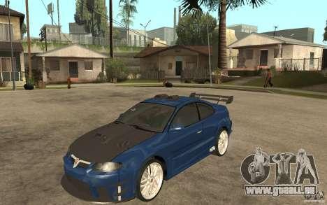 Vauxhall Monaro für GTA San Andreas