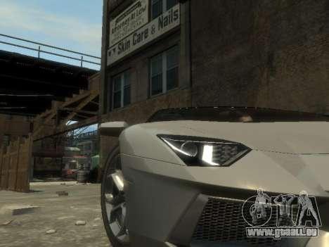 Lamborghini Aventador LP700-4 EPM pour GTA 4 est un côté