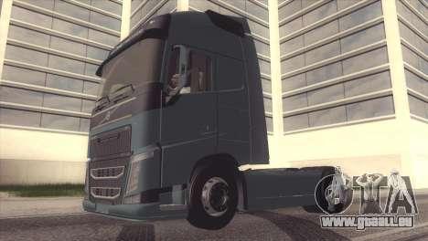 Volvo FH 2013 pour GTA San Andreas vue intérieure