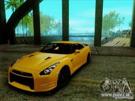 Nissan GTR Egoist 2011 pour GTA San Andreas