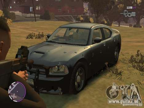 Dodge Charger SRT8 2007 FBI pour GTA 4