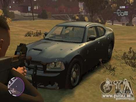 Dodge Charger SRT8 2007 FBI pour GTA 4