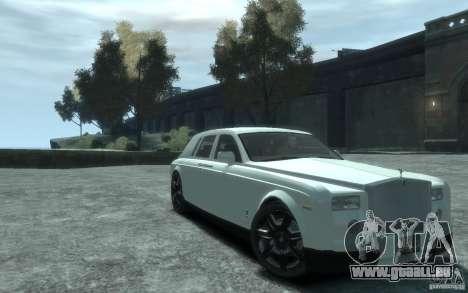 Rolls-Royce Phantom für GTA 4 Innenansicht