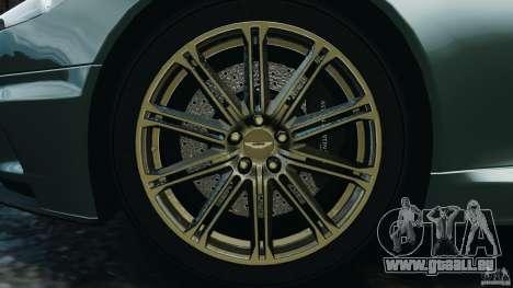 Aston Martin DBS Volante [Final] pour GTA 4 vue de dessus