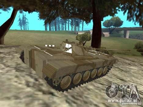 BMP-2 du CGS pour GTA San Andreas laissé vue
