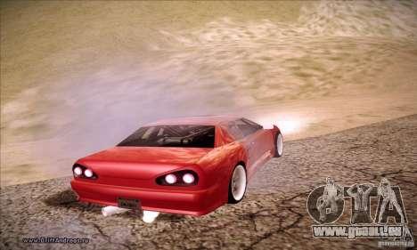 Elegy 180SX pour GTA San Andreas laissé vue