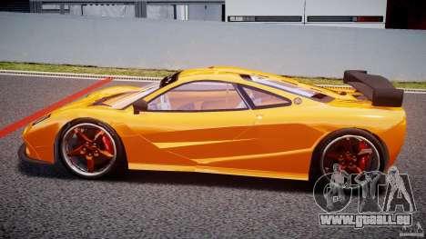Mc Laren F1 LM v1.0 pour GTA 4 est une gauche