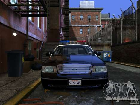 Ford Crown Victoria LAPD v1.1 [ELS] pour GTA 4