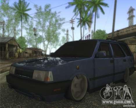 Tofas Kartal SLX pour GTA San Andreas sur la vue arrière gauche