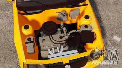 Opel Kadett GL 1.8 1996 pour GTA 4 Vue arrière