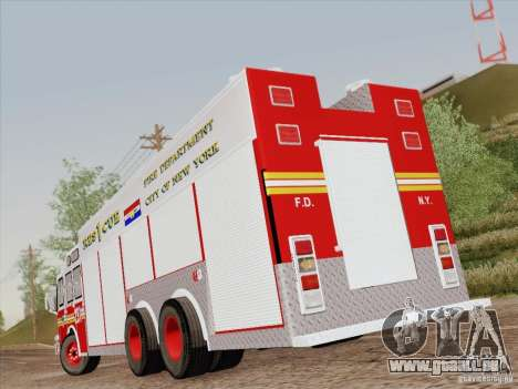 E-One F.D.N.Y Fire Rescue 1 pour GTA San Andreas salon