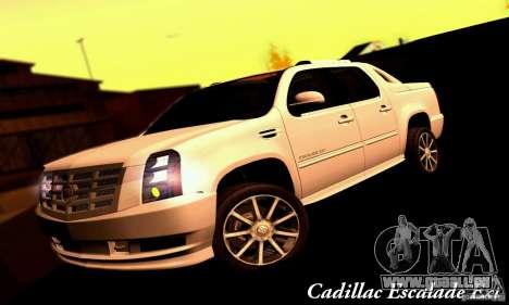 Cadillac Escalade Ext pour GTA San Andreas