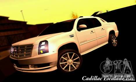 Cadillac Escalade Ext für GTA San Andreas