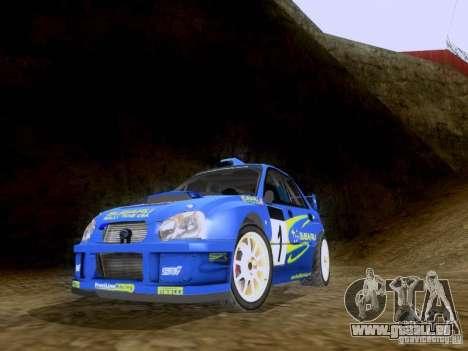Subaru Impreza WRC 2003 für GTA San Andreas
