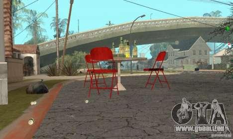 Sapin de Noël pour GTA San Andreas quatrième écran