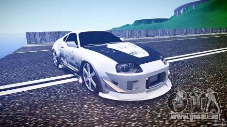 Toyota Supra ProStreet Style für GTA 4 Rückansicht