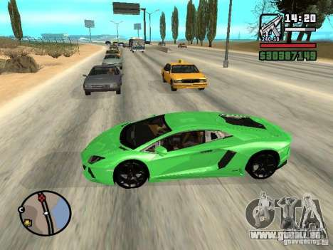 Automobile Traffic Fix v0.1 pour GTA San Andreas deuxième écran