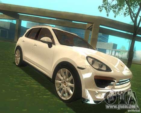Porsche Cayenne 958 2010 V1.0 pour GTA San Andreas vue arrière