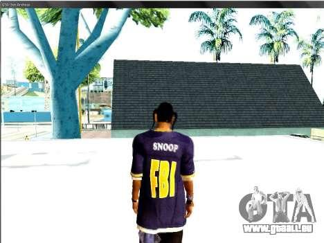 Snoop DoG le F.B.I. pour GTA San Andreas troisième écran