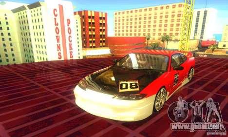 Nissan Silvia S15 8998 Edition Tunable pour GTA San Andreas vue de droite