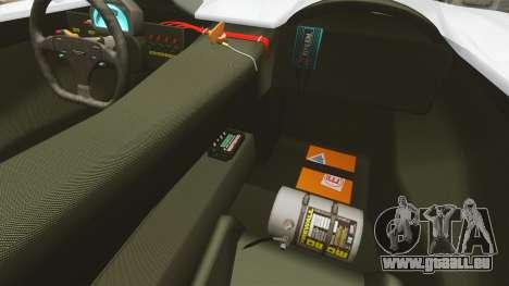 Audi R8 Spider Body Kit Final für GTA 4 Innenansicht