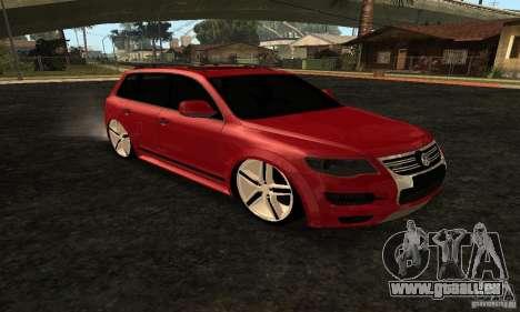 Volkswagen Touareg Dag Style pour GTA San Andreas