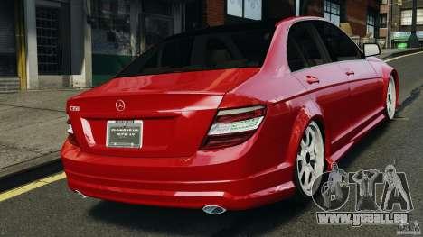 Mercedes-Benz C350 Avantgarde v2.0 für GTA 4 hinten links Ansicht