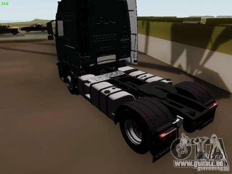 Volvo FH13 Globetrotter für GTA San Andreas rechten Ansicht