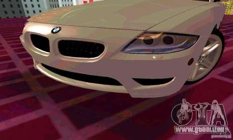 BMW Z4 E85 M pour GTA San Andreas roue