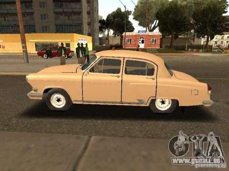 GAZ 21 Volga Taxi für GTA San Andreas linke Ansicht
