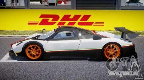 Pagani Zonda R 2009 Italian Stripes pour GTA 4 est une gauche