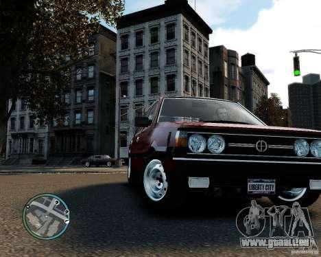 FSO Polonez 1500 Borewicz pour GTA 4 est une gauche