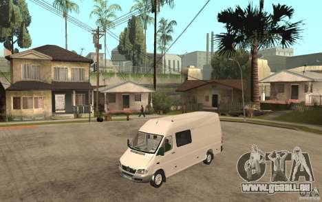 Mercedes-Benz Sprinter 313cdi pour GTA San Andreas