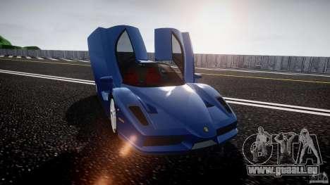 Ferrari Enzo pour GTA 4 vue de dessus