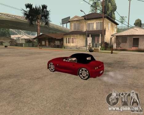 BMW Z4 für GTA San Andreas rechten Ansicht