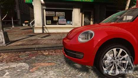 Volkswagen Beetle Turbo 2012 für GTA 4 linke Ansicht